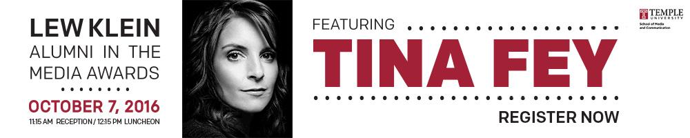 Register for Lew Klein Awards - Tina Fey